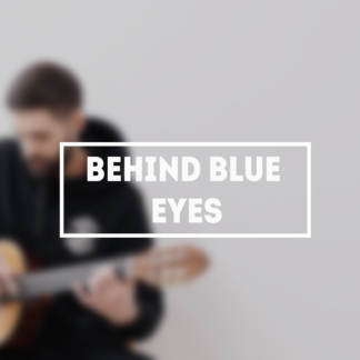 Behind Blue eyes tabs