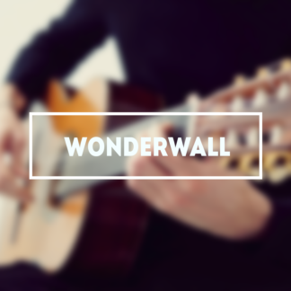 Oasis Wonderwall табы